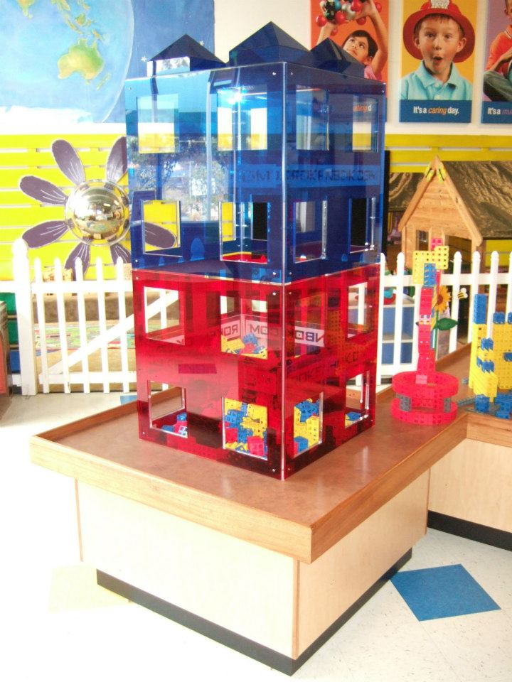 Escondido Children's Museum Building Block Play Stations